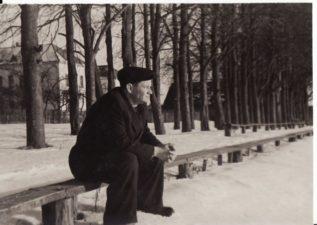 Vaclovas Blėdis. Apie 1955 m. Fotogr. Kazimiero Vitkaus. PAVB FKV-410/9