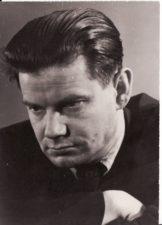 Vaclovas Blėdis. Apie 1955-1960 m. Fotogr. Kazimiero Vitkaus. PAVB FKV-410/50