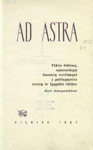 Raštai [T.] 3 : Ad astra / Gabrielė Petkevičaitė-Bitė. Vilnius, 1967. PAVB B 1470
