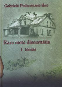 Karo meto dienoraštis. T. 1. / G. Petkevičaitė-Bitė. Panevėžys, 2008–2011. PAVB B 09-1526