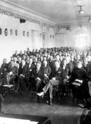 Lietuvos Steigiamasis Seimas. Lietuvos centrinio valstybės archyvo nuotrauka