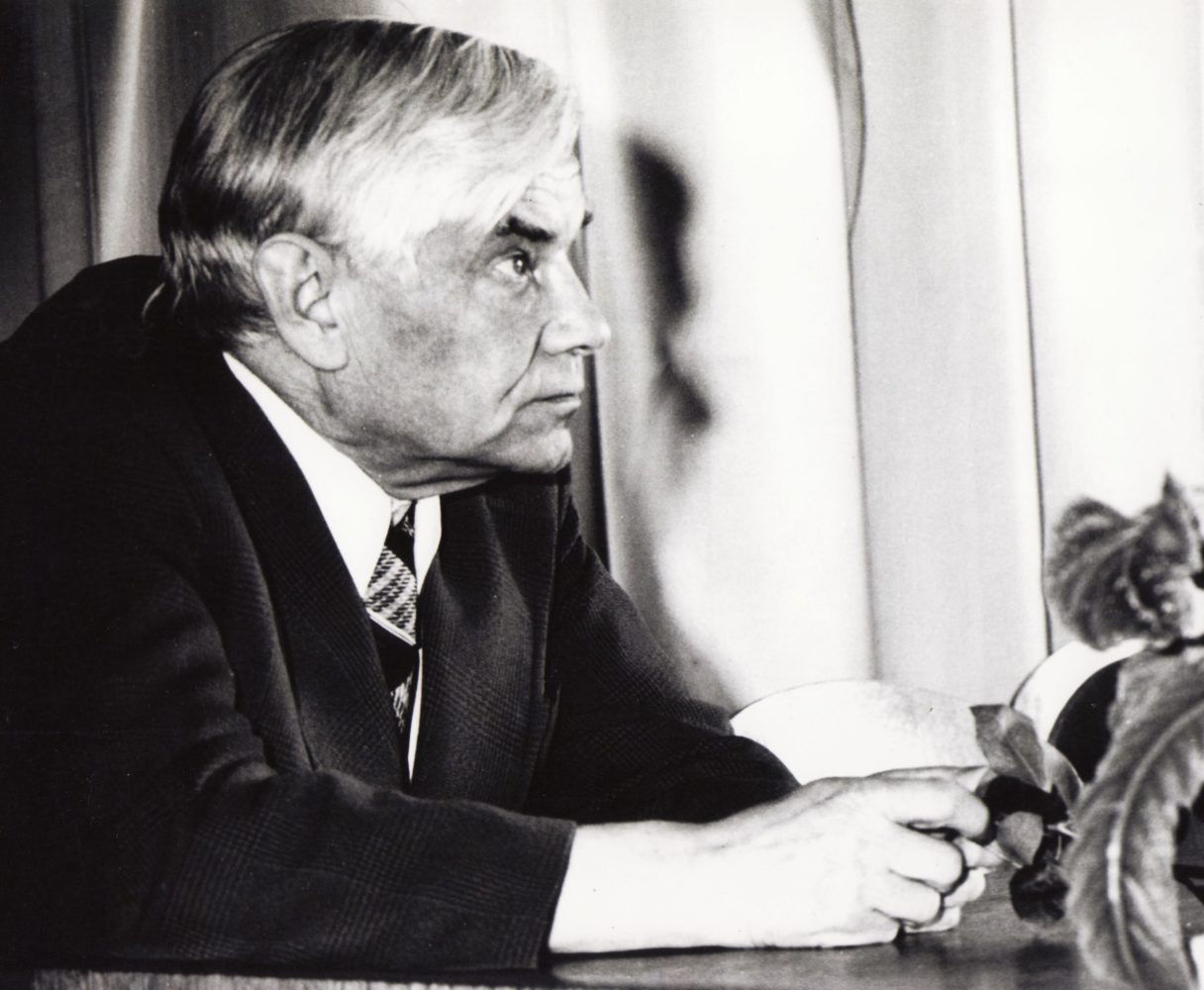 Vaclovas Blėdis. Apie 1987 m.