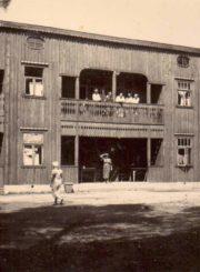 Mykolo Karkos vila Janydžiuose (Anykščiai). [Apie 1936 m.]. Panevėžio apskrities Gabrielės Petkevičaitės-Bitės viešoji biblioteka, Mykolo Karkos fondas F12-320