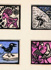 """Barisaitė, Laima Sofija. Iliustracija P. Cvirkos knygai """"Cukriniai avinėliai"""". [1964]. Panevėžio apskrities Gabrielės Petkevičaitės-Bitės viešoji biblioteka, Laimos Sofijos Barisaitės fondas F155"""