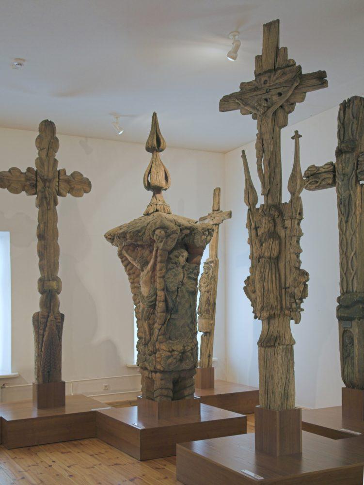 Vinco Svirskio kryžiai Kėdainių krašto muziejuje