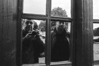 Stasys Povilaitis ir Algimantas Aleksandravičius. 2001 m. Vilnius