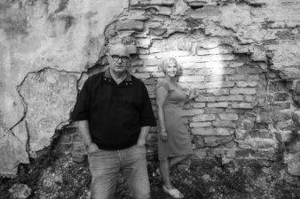 Algimantas Aleksandravičius su žmona Loreta. Vilnius. 2020 m.