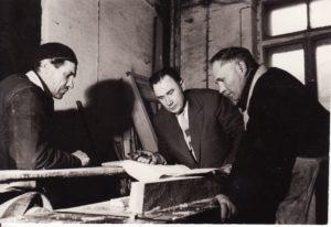 Stalių dirbtuvės. Fotogr. Kazimiero Vitkaus. PAVB FKV-312/11