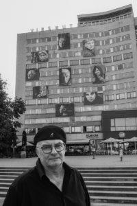 Kartą Panevėžyje – Teatro žvaigždės sužiuro į miestą. 2017 m. Fotogr. Stasys Povilaitis