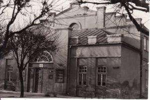 Senasis teatras. Apie 1966 m. Fotogr. Kazimiero Vitkaus. PAVB FJM-868/1