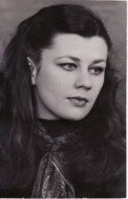 Zita Adukevičiūtė. Teatre 1980–1992 m. Fotogr. Kazimiero Vitkaus. PAVB FKV-403/21
