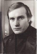 Albinas Kėleris (g. 1957 m.). Teatre nuo 1976 m. Fotogr. Kazimiero Vitkaus. PAVB FKV-404/12