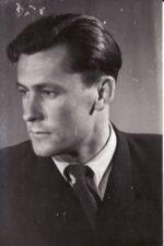 Romualdas Klasčius (1925–1985). Teatre 1944–1964 m. Fotogr. Kazimiero Vitkaus. PAVB FKV-398/48