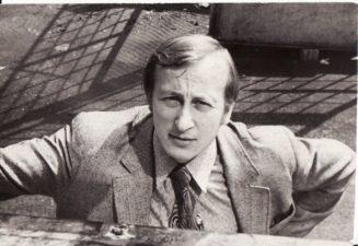Gintautas Medžiavepris. Teatre 1968; 1971–1984 m. Fotogr. Kazimiero Vitkaus. PAVB FKV-398/67