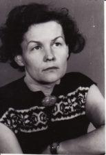 Ona Konkulevičiūtė (1924–2008). Teatre 1943–1962 m. Fotogr. Kazimiero Vitkaus. PAVB FKV-398/49