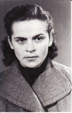 Laimutė Liesytė (1932–2003). Teatre 1950–1972 m. Fotogr. Kazimiero Vitkaus. PAVB FKV-398/55