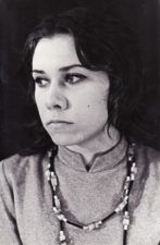 Lili Stepankaitė (g. 1953 m.). Teatre 1972–1976 m. Fotogr. Kazimiero Vitkaus. PAVB FKV-398/34