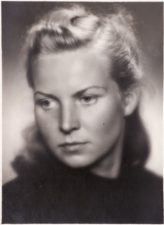 Danutė Julija Rutkutė (1922–2019). Teatre 1945–1946 m. PAVB FKV-398/78