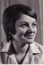 Gražina Urbonavičiūtė (g. 1946 m.). Teatre 1965–2010 m. Fotogr. Kazimiero Vitkaus. PAVB FKV-402/10