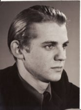 Raimondas Vabalas (1937–2001). Teatre 1953–1956 m. Fotogr. Kazimiero Vitkaus. PAVB FKV-398/79