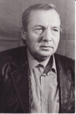 Alfredas Dukšta (g. 1945). Teatre 1964–1965 m.; 1969–1995 m. Fotogr. Kazimiero Vitkaus. PAVB FKV-405/17