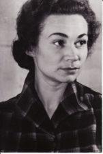 Henrika Hokušaitė (1927–1989). Teatre 1945–1989 m. Fotogr. Kazimiero Vitkaus. PAVB FKV-400/2