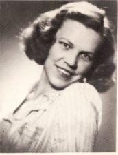 Veronika Fakejevaitė. Teatre 1940–1941 m. FKV-398/68