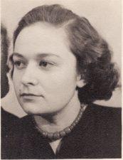 Regina Hokušaitė (1931–2019). Teatre 1949–1952 m. PAVB FKV-398/76