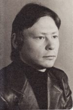 Arvydas Gustas (m. 1988 m.). Teatre 1979–1988 m. Fotogr. Kazimiero Vitkaus. PAVB FKV-437/23
