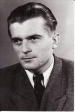 Juozas Jučas. Teatre 1948–1962 m. Fotogr. Kazimiero Vitkaus. PAVB FKV-398/23