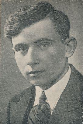 Poetas, žurnalistas, redaktorius, pedagogas Kazys Zupka-Kecioris. Iš: Ateitis, 1936, nr. 1