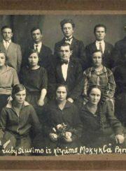 V. Raubos rūbų siuvimo ir kirpimo mokykla. Panevėžys. 1928 m. Nuotrauka iš Panevėžio kraštotyros muziejaus rinkinių