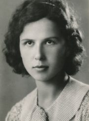 Halina Didžiulytė-Mošinskienė. 1937 m. Panevėžio apskrities Gabrielės Petkevičaitės-Bitės viešoji biblioteka, Irenos Didžiulytės-Jurevičienės fondas F5