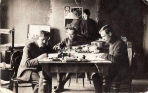 2. Panevėžio žemės ūkio draugijos darbuotojai. 1929 m. Nuotrauka iš Panevėžio kraštotyros muziejaus rinkinių