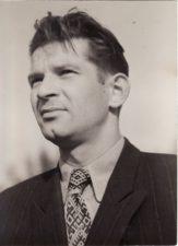 Bronius Babkauskas. 1955 m. liepa. Fotogr. Kazimiero Vitkaus. PAVB FKV-456/17