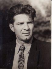 Bronius Babkauskas. 1955 m. liepa. Fotogr. Kazimiero Vitkaus. PAVB FKV-456/16
