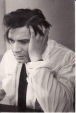 """J. Germanas """"Daktaras Kaliužnas"""" (rež. Vaclovas Blėdis, Gediminas Karka), 1956 m. Bronius Babkauskas – Kaliužnas. Fotogr. Kazimiero Vitkaus. PAVB FKV-128/7-2"""