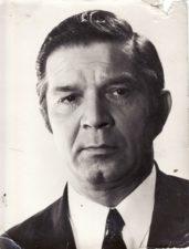"""Bronius Babkauskas aktorių atrankoje filme """"Nesibaigianti gatvė"""" (rež. Igoris Dobroliubovas). 1972 m. PAVB FKV- 456/26"""