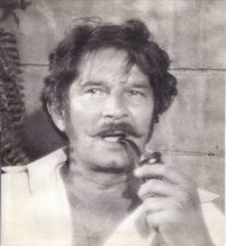"""Bronius Babkauskas – Čertopchanovas filme """"Bajoro Čertopchanovo gyvenimas ir mirtis"""". (rež. Viktoras Turovas). 1972 m. PAVB F54-60-2"""