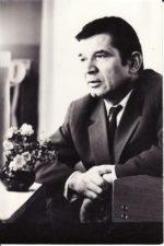Bronius Babkauskas. Viena iš paskutiniųjų fotografijų. Fotogr. Kazimiero Vitkaus. PAVB FKV-456/13