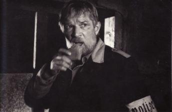 """Bronius Babkauskas – Levonas filme """"Liepsna"""" (rež. V. Četverikovas). 1974 m. PAVB F54-61-3"""