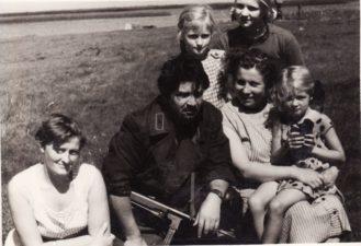 """Bronius Babkauskas – Banditas filme """"Gyvieji didvyriai"""" (3 novelė """"Paskutinis šūvis"""", rež. Arūnas Žebriūnas). 1960 m. PAVB F54-37-5"""