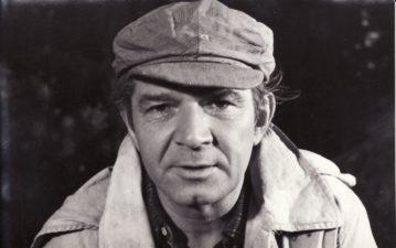 """Bronius Babkauskas – Vilkišius filme """"Svetimi"""" (rež. Marijonas Giedrys). 1961 m. PAVB F54-38-1"""