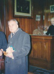Monsinjoras Jonas Juodelis ir kunigas Albinas Pipiras Kanadoje. 1995 m. Iš kairės: A. Pipiras, J. Juodelis. Panevėžio apskrities Gabrielės Petkevičaitės-Bitės viešoji biblioteka, Jono Juodelio fondas F121-164