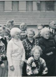 Vytautas Juškevičius buvusių Kolymos politinių kalinių kasmetiniame susitikime Rumšiškėse (Kaišiadorių r.). 1996 m. Iš kairės: 1-as Vytautas Juškevičius. Panevėžio apskrities Gabrielės Petkevičaitės-Bitės viešoji biblioteka, Vytauto Juškevičiaus fondas F82-133