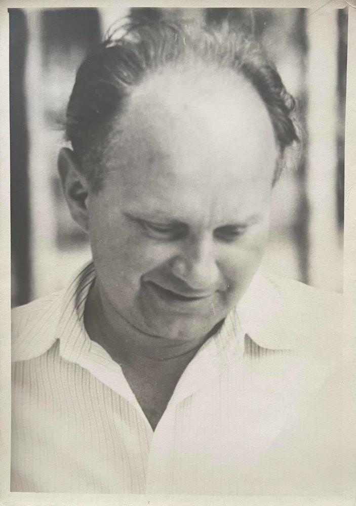 Pedagogas, poetas, tremtinys Česys Gediminas Cemnolonskis. Apie 1970 m. Kęstučio Cemnolonskio asmeninis archyvas