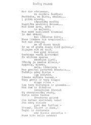 Cemnolonskis, Česys Gediminas (1931–1991). Žodžių prasmė: [eilėraštis]. Panevėžio apskrities Gabrielės Petkevičaitės-Bitės viešoji biblioteka, Česio Gedimino Cemnolonskio fondas F105