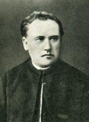 Lietuvių poetas, kunigas Antanas Vienažindys. Apie 1888 m. Zarasų krašto muziejus, ZKM F 6749