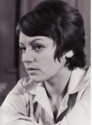 Gražina Urbonavičiūtė. Panevėžys, 1973 m. Fotogr. Kazimiero Vitkaus. PAVB FKV-402/9-2